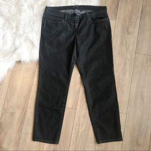 EILEEN FISHER Women's 14 Short Length Black Jeans!